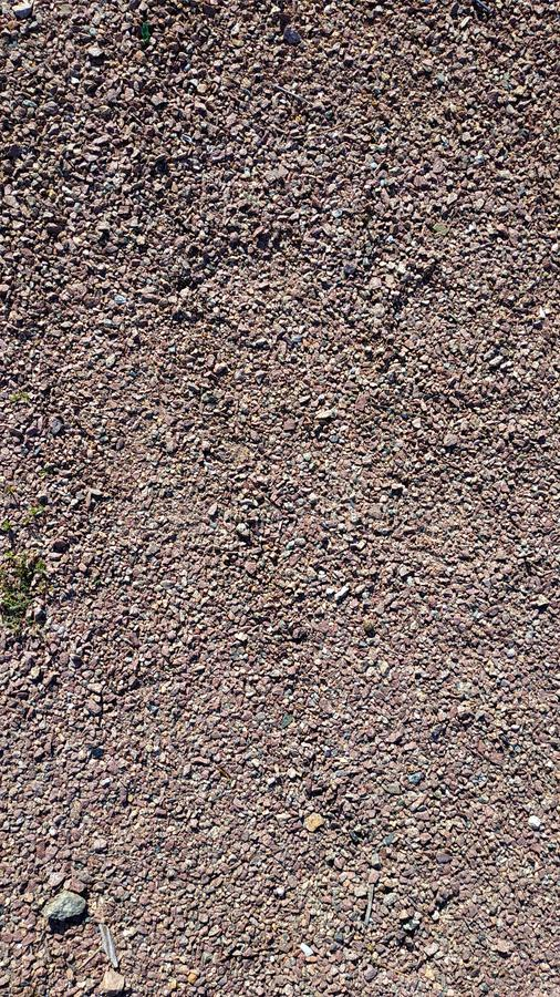 Fine sharp granite and crushed stone close-up macro. landscape design template. royalty free stock photos