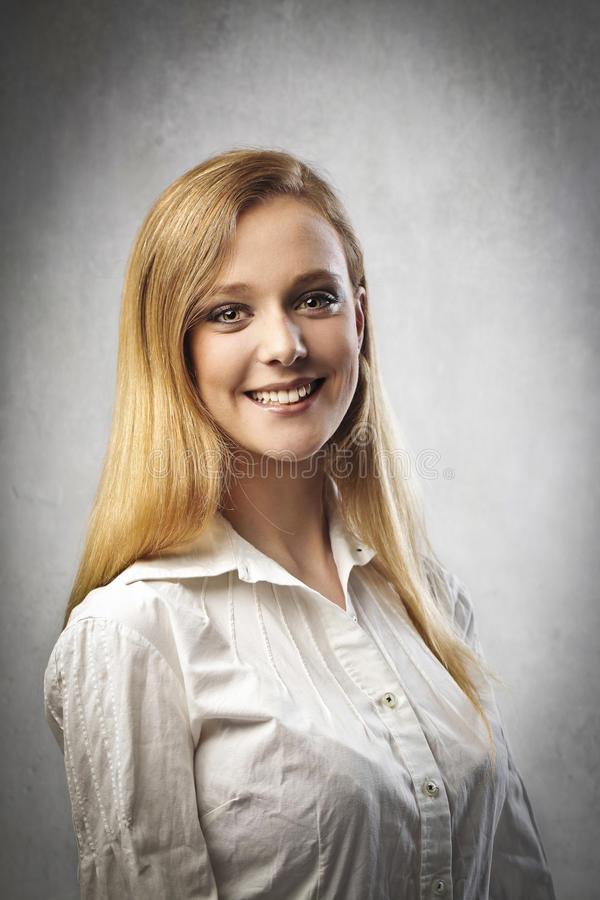 Download Fine smile stock photo. Image of blonde, beauty, smile - 25268274