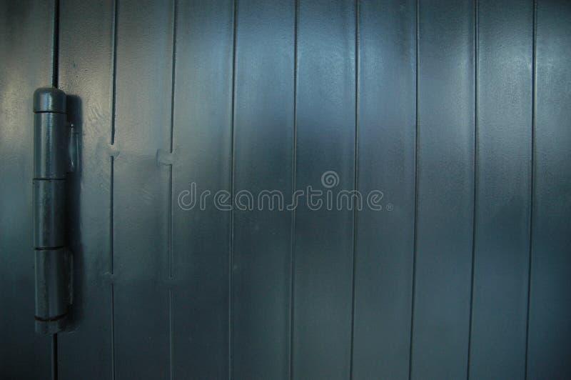 Fine su ideale di rotolamento di struttura del dettaglio della porta per fondo fotografie stock