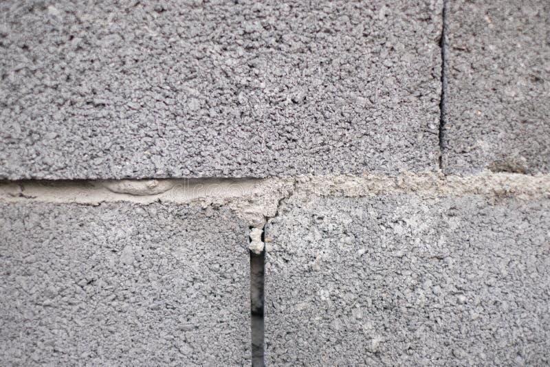 Fine sul fondo della costruzione del muro di mattoni immagini stock libere da diritti
