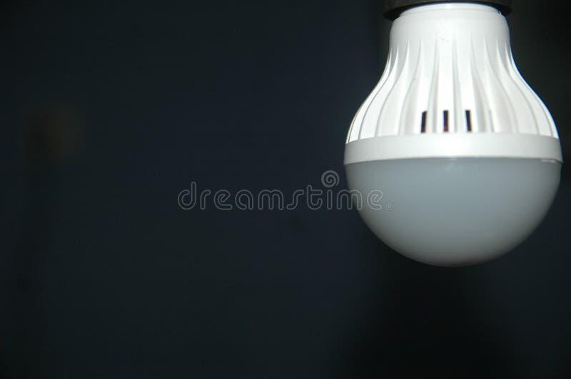 Fine sul fondo della sfuocatura della lampada del dettaglio fotografia stock libera da diritti