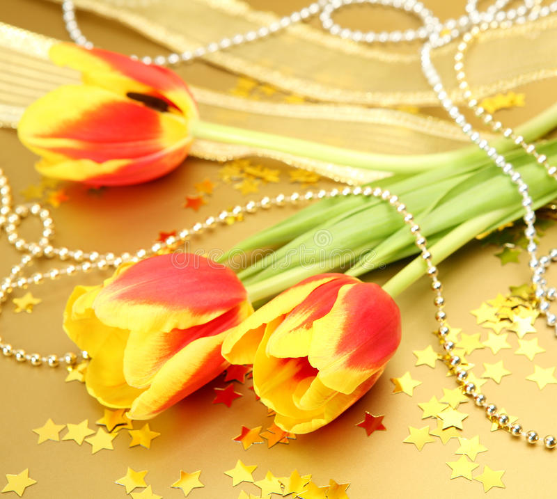 Download Fine tulips stock image. Image of ornament, celebratory - 22734435