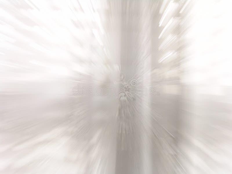 Finestra bianca luminosa che zuma nell'azione fotografia stock libera da diritti