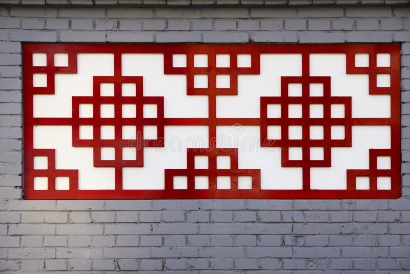 Finestra cinese immagini stock