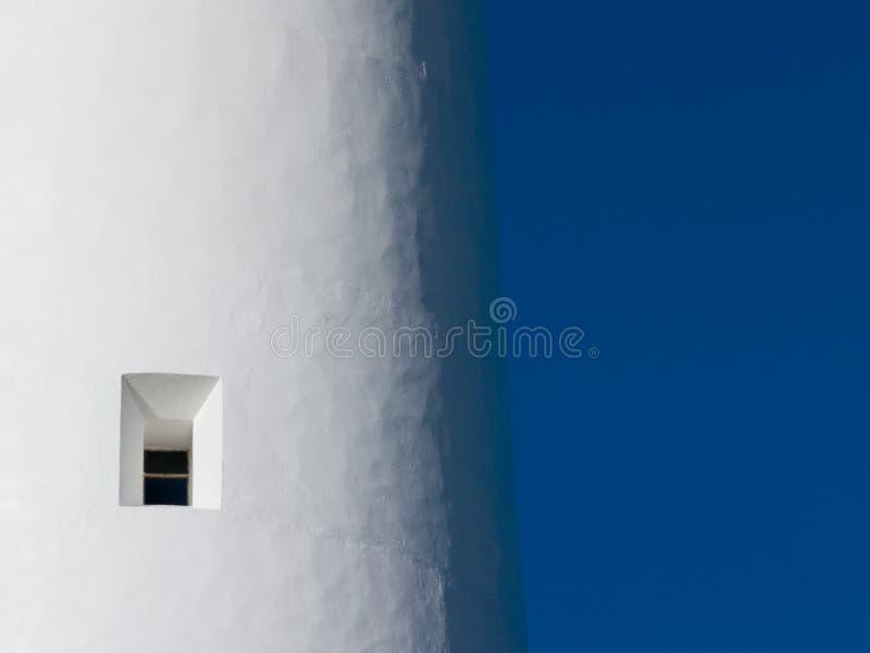Finestra del faro fotografia stock