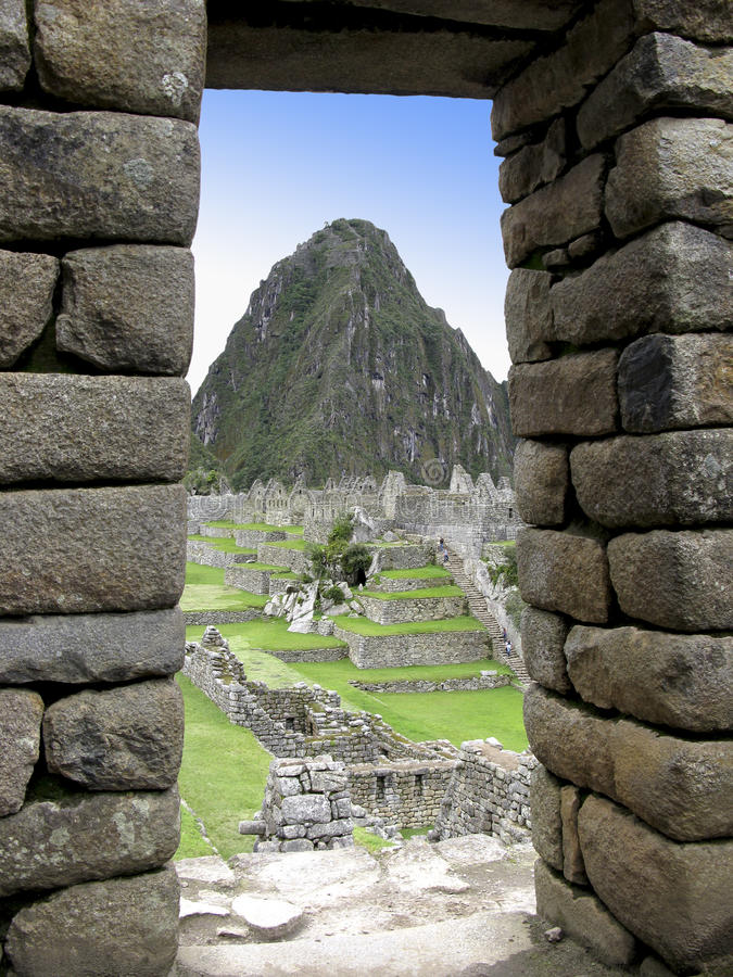 Finestra del Inca fotografia stock