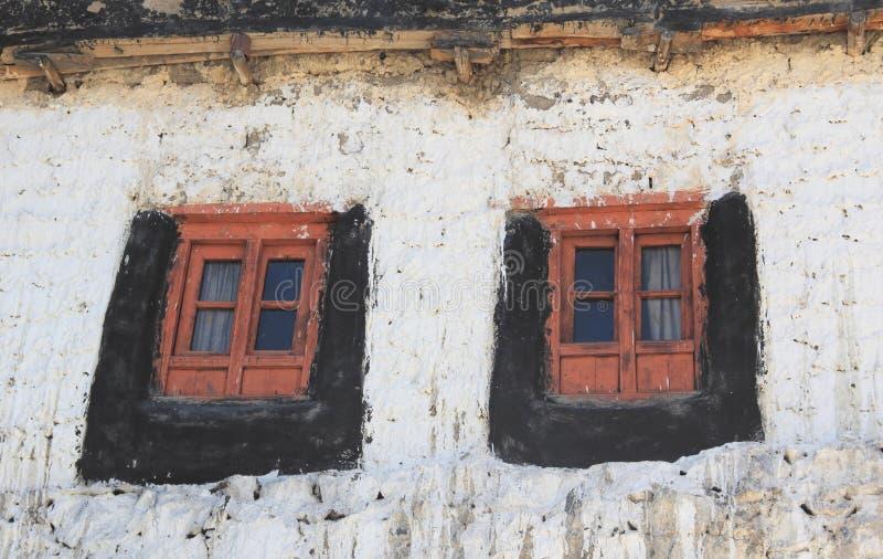 Finestra del monastero immagini stock