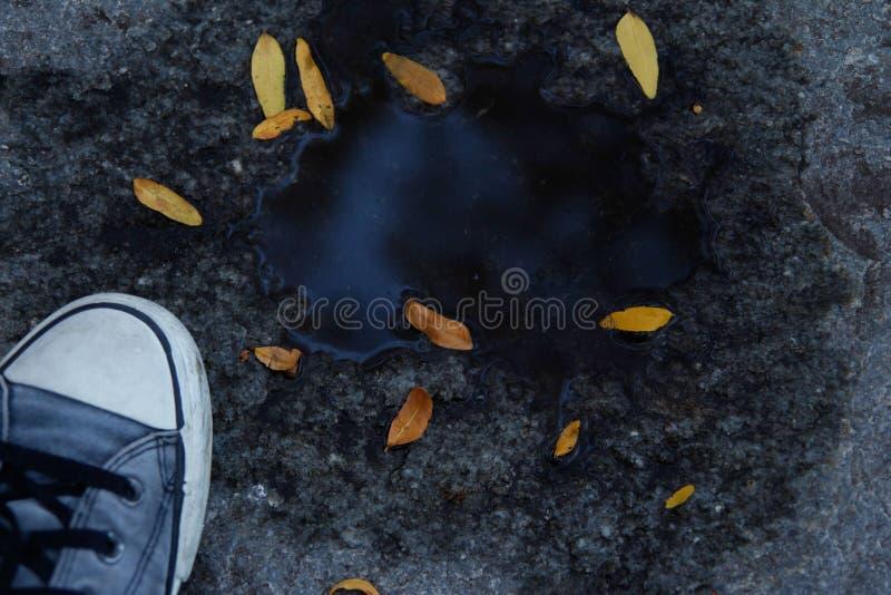 Finestra dell'acqua blu fotografie stock libere da diritti