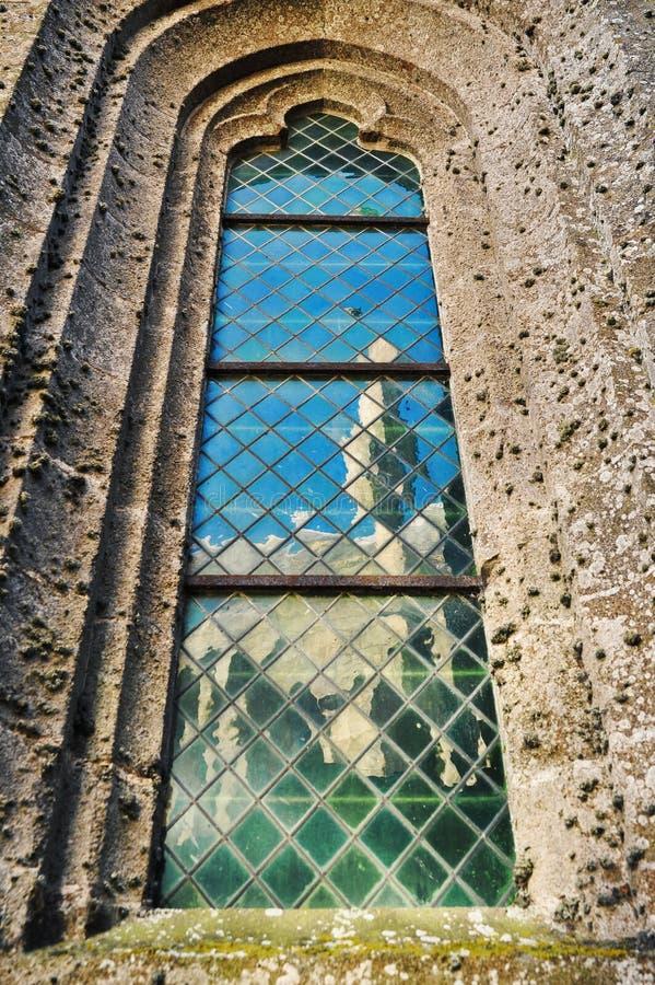 Finestra della cattedrale immagine stock libera da diritti