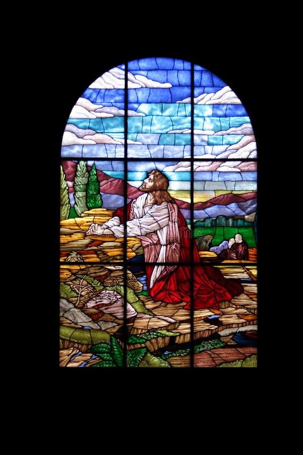 Finestra della chiesa immagine stock libera da diritti