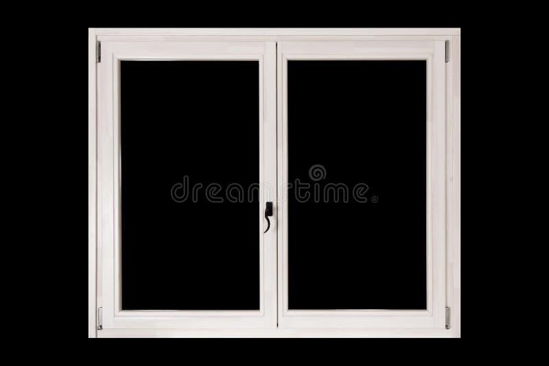 Finestra della doppia porta fotografie stock