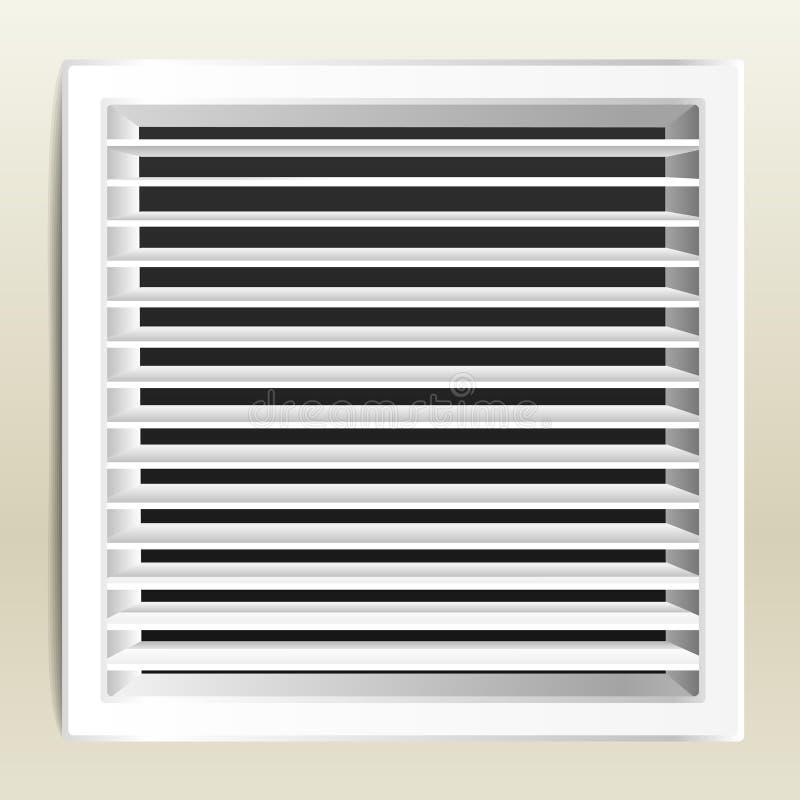 Finestra di ventilazione illustrazione di stock