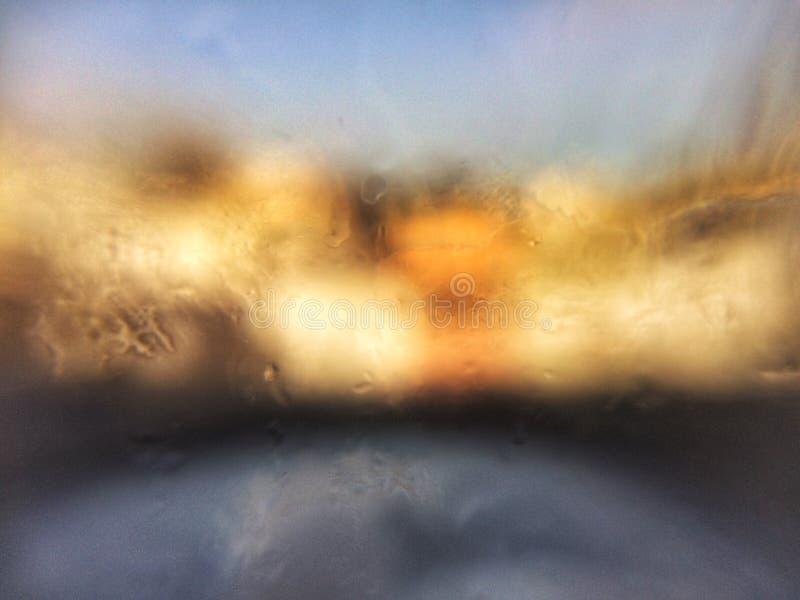 Finestra di vetro immagini stock libere da diritti
