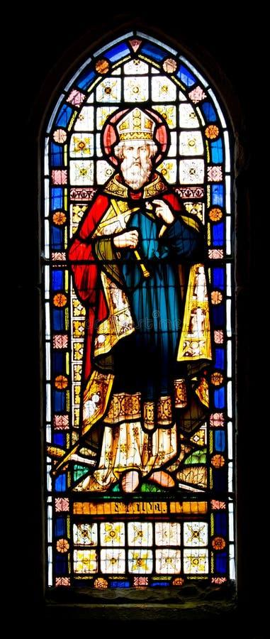 Finestra di vetro macchiato della st Kilda immagini stock libere da diritti
