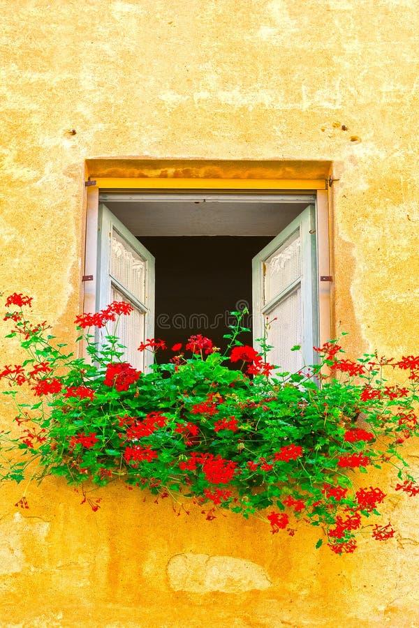 finestra italiana fotografie stock libere da diritti