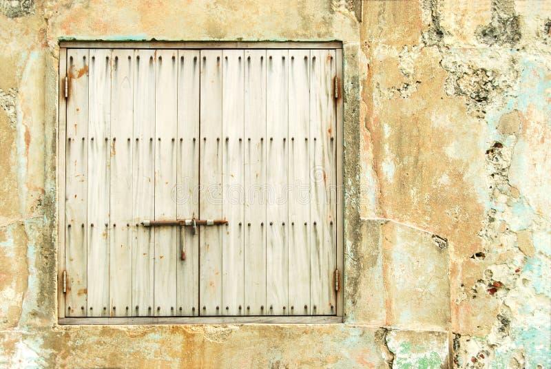 Finestra Locked fotografia stock