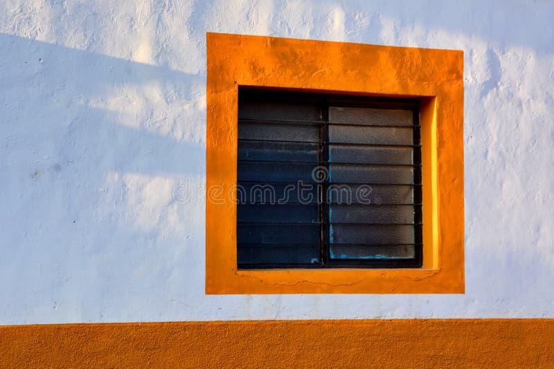 Finestra messicana fotografia stock