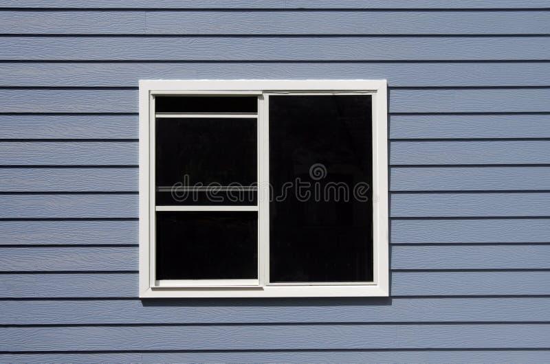 finestra nera immagine stock
