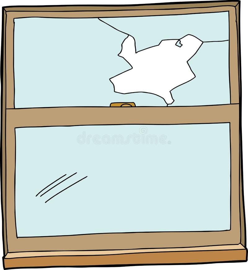 Finestra rotta del fumetto illustrazione vettoriale illustrazione di background 41253565 - La finestra rotta ...