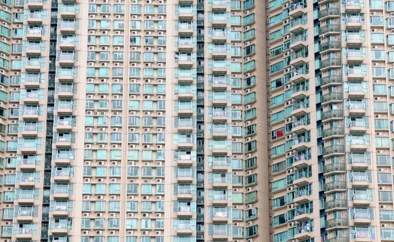 Finestre del grattacielo fotografia stock
