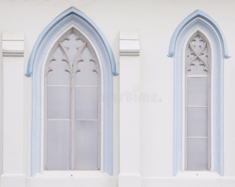 Finestre gotiche immagine stock libera da diritti