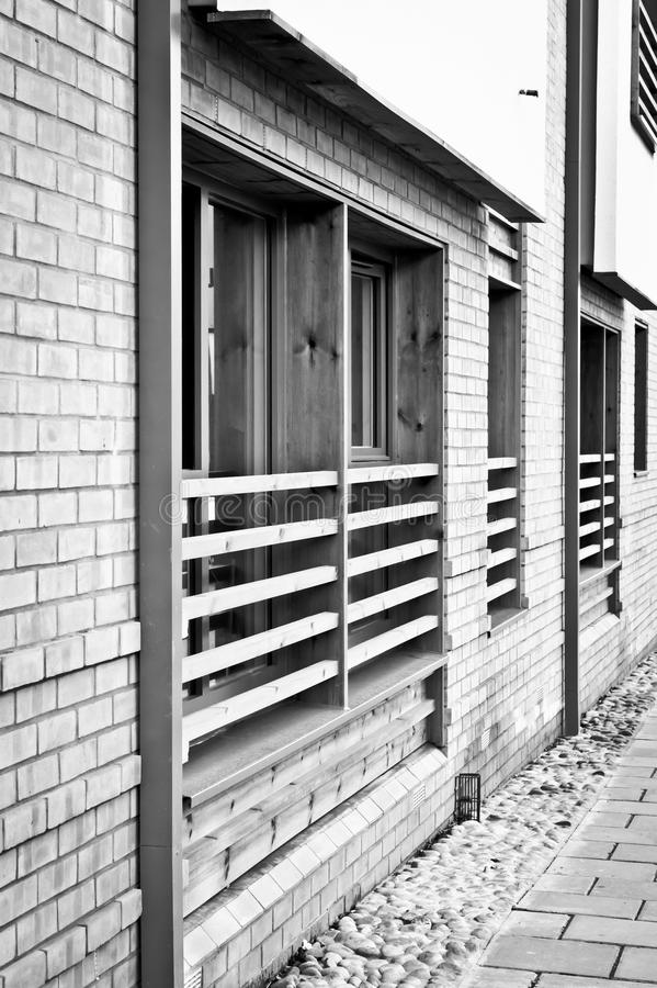 Finestre moderne dell 39 appartamento immagine stock - Finestre moderne ...