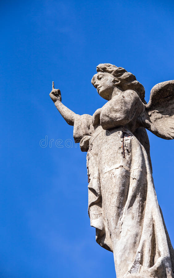 Finger of an angel royalty free stock photo