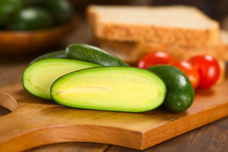 Finger-Avocado stockfotos
