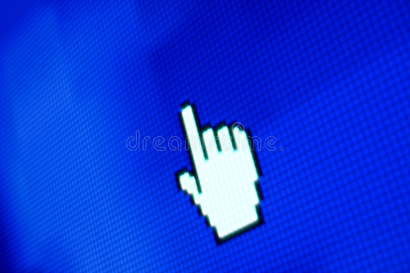 Download Finger corsor stock image. Image of interactive, email - 8071737