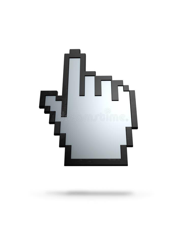 Download Finger cursor stock illustration. Illustration of confirm - 1115442