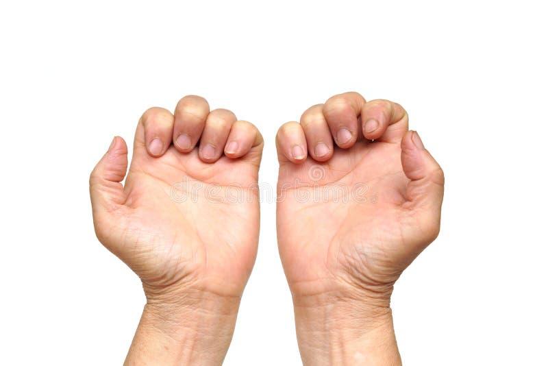 Finger del disparador foto de archivo