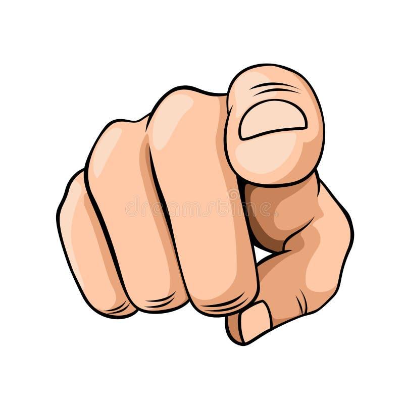 Finger del indicador libre illustration