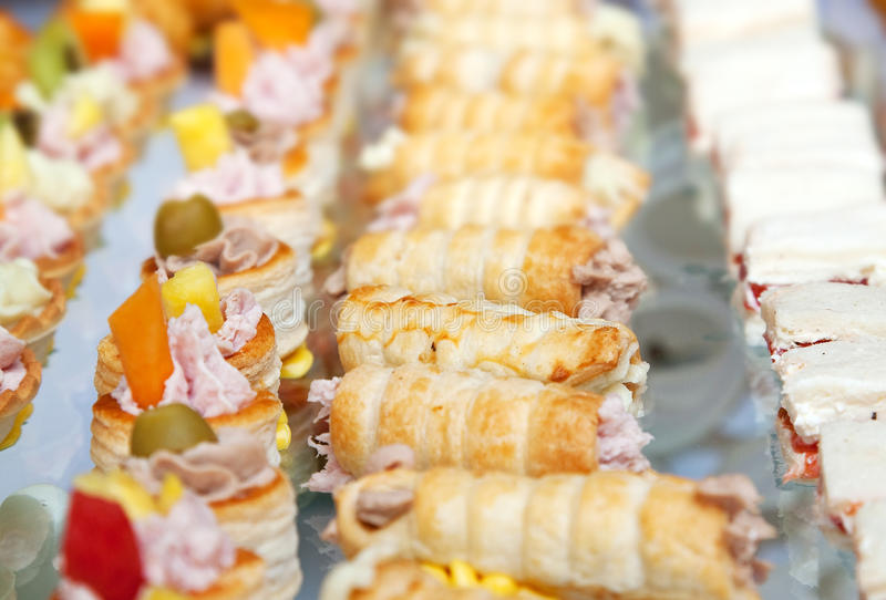 Finger foods royalty free stock image