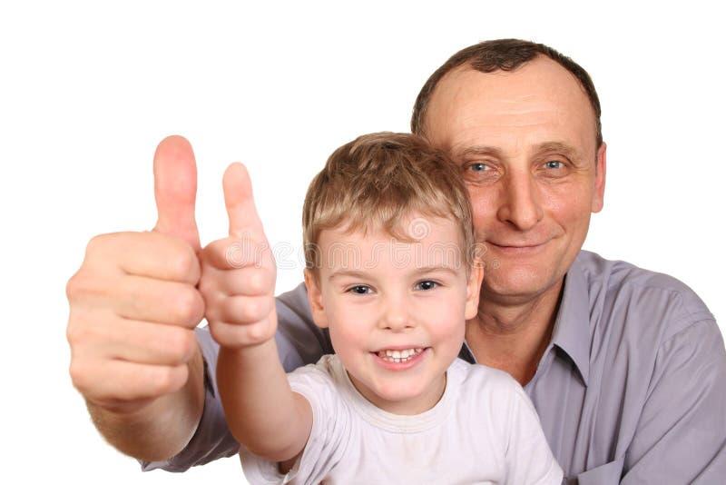 finger grandson ok стоковые фотографии rf