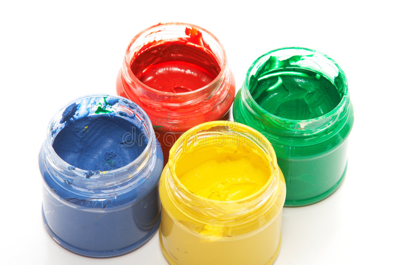 Download Finger paints stock image. Image of craft, variation, dirty - 8012297