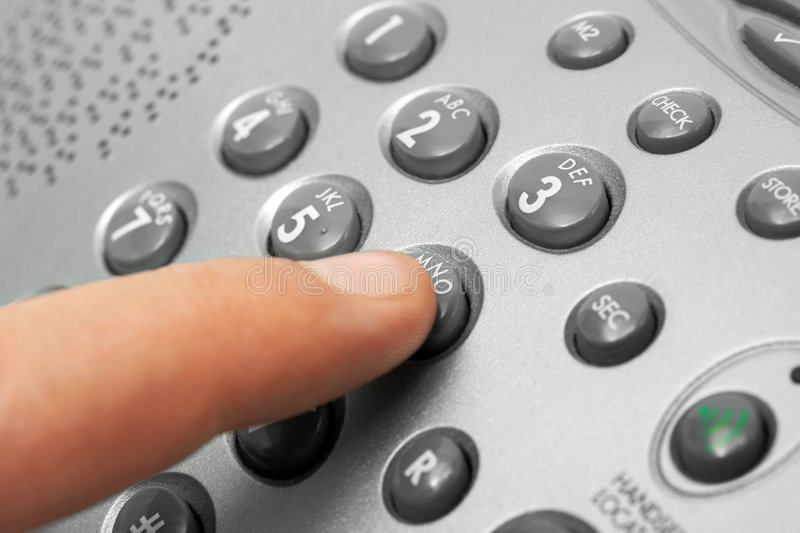 Download Finger and phone keypad stock photo. Image of human, global - 3475980