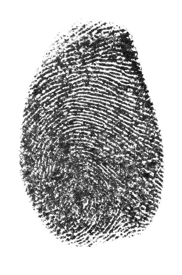 Finger print stock photos