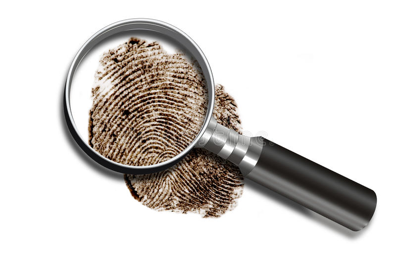 Download Finger Print. stock image. Image of closeup, identity - 24327667