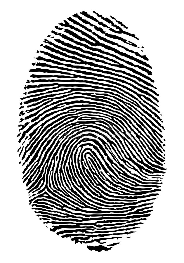 Finger Print. Stock Photography