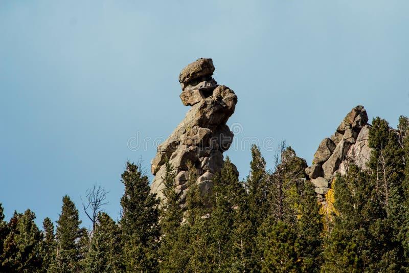 Finger Rock royalty free stock image