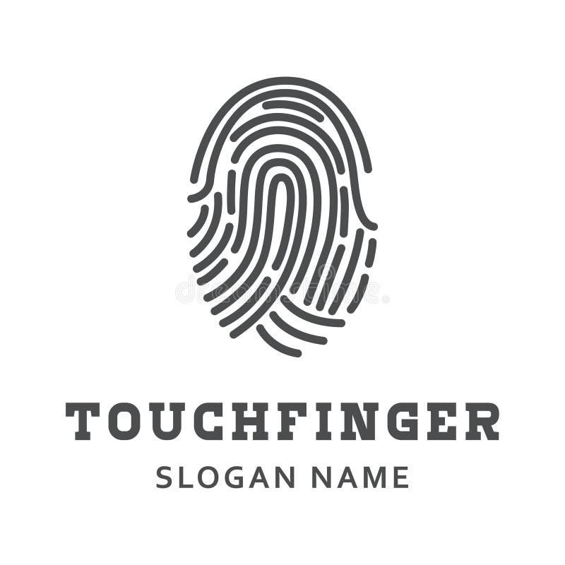 Finger security artwork design illustration royalty free stock images
