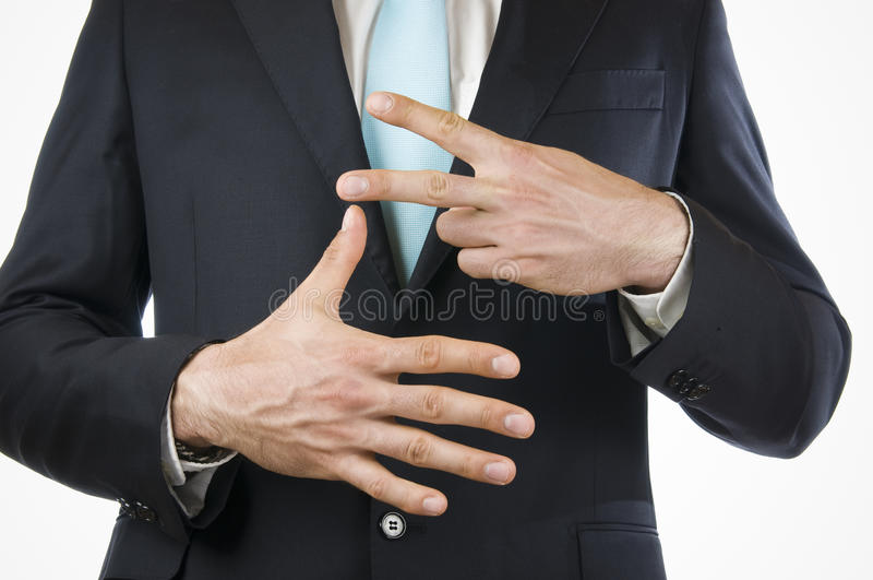 Finger sju arkivfoto