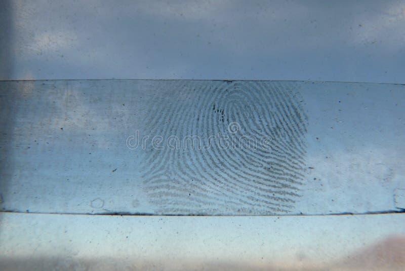 fingerabdruck lizenzfreies stockbild
