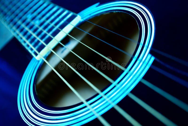 Fingerboard de la guitarra fotografía de archivo