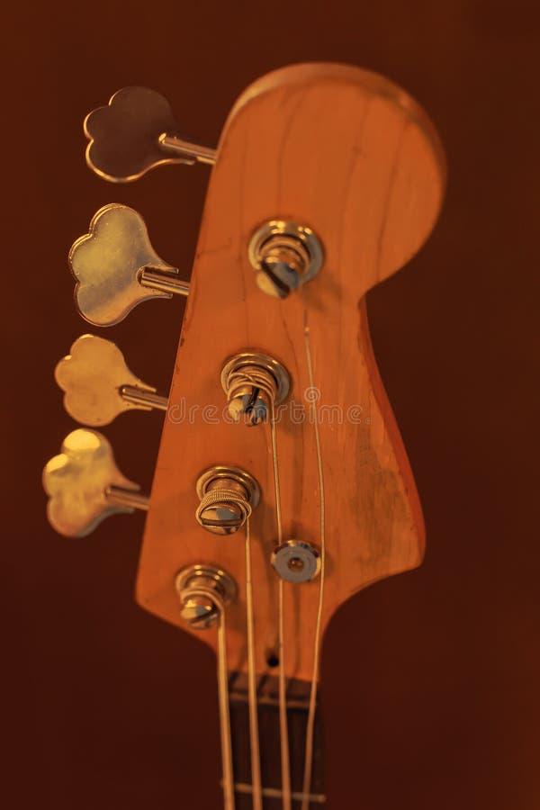 Fingerboard der Gitarre stockfoto