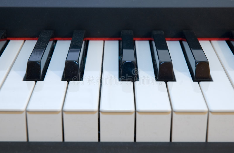 fingerboard pianino fotografia royalty free