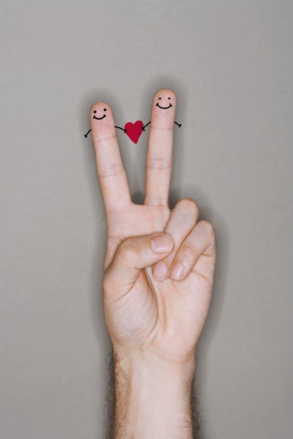 Download Fingerfolk Som Dras På Den Caucasian Handen Fotografering för Bildbyråer - Bild av hand, manlig: 78729899