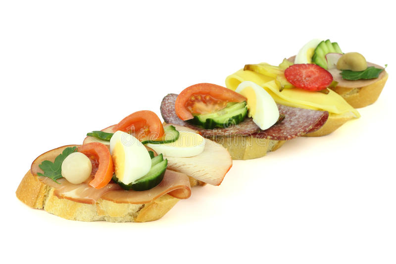 Fingerfood image stock