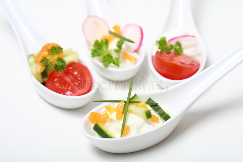 Fingerfood immagine stock