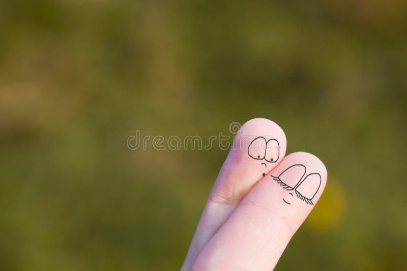 fingerlovers στοκ εικόνες